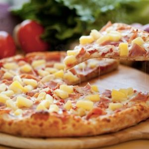 hawaiin pizza take away in bryanston