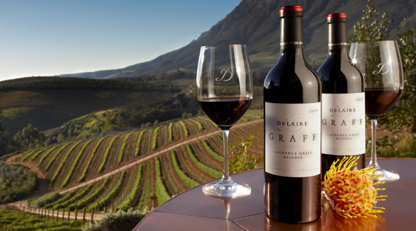 Delaire Graff Wine Pairing at Lanser's on Main – 5 December 2020