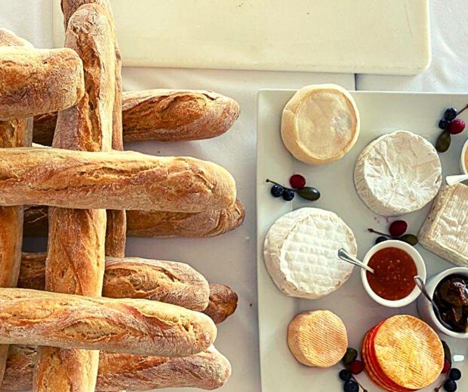 freshly baked baguettes bryanston bakery